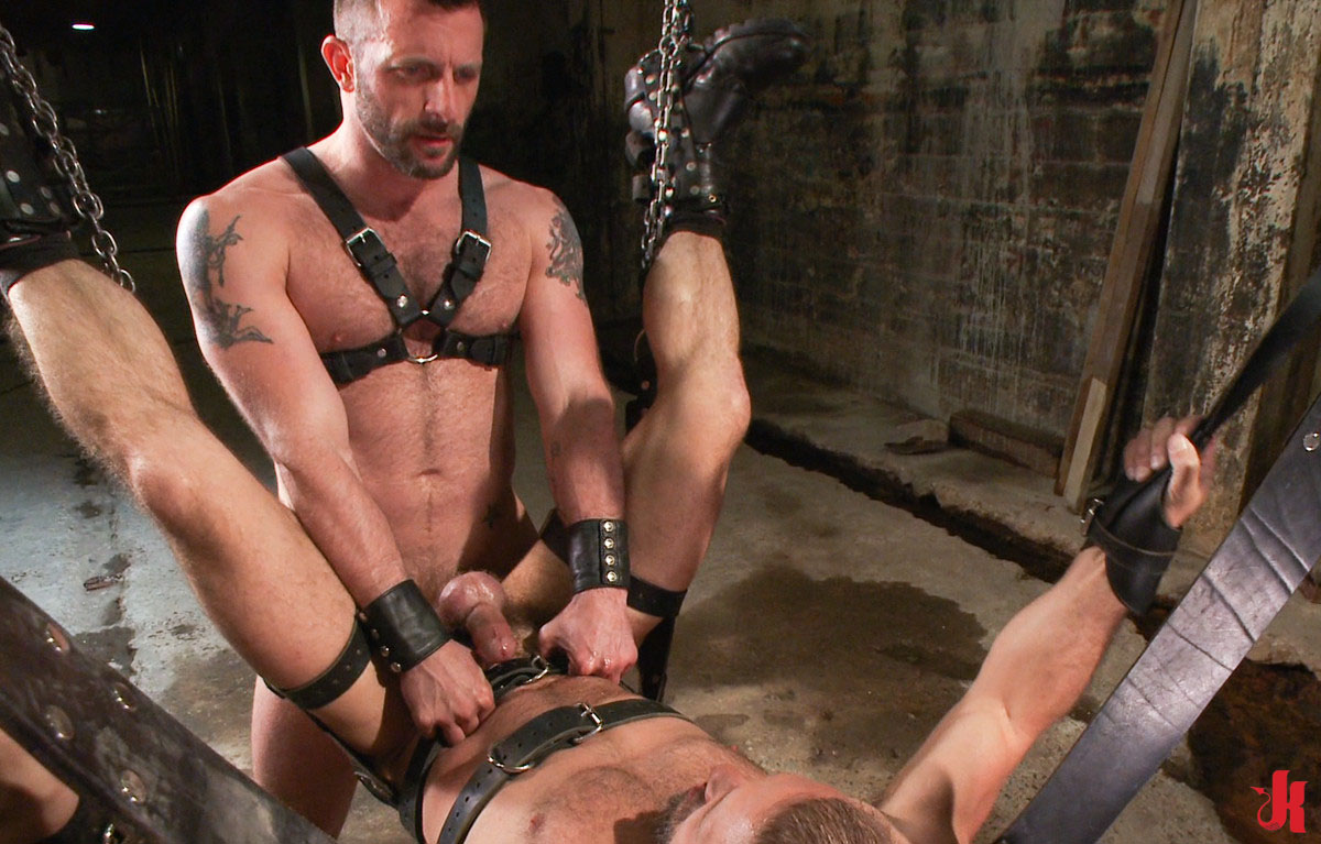 Blonde Slave Is Toyed In Back Arch BDSM
